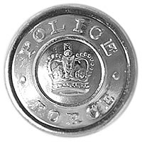 POLICE Button Large Silver
