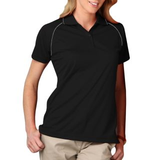 Ladie's Wicking Polo With Contrast Piping