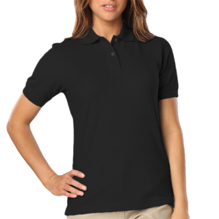 Ladie's Short Sleeve Budget Pique Polo
