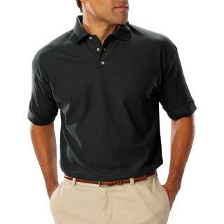 Men's Short Sleeve Teflon Treated Piques No Pocket