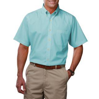 Men's Short Sleeve Easy Care Poplin