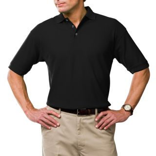 Men's Solid Moisture Wicking Polo