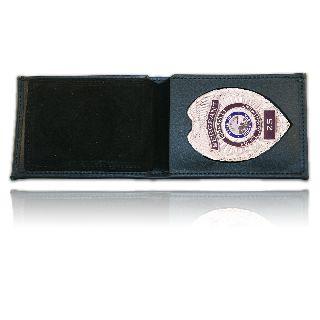 Billfold Badge Case/Wallet w/ Cc Slots & Id Window