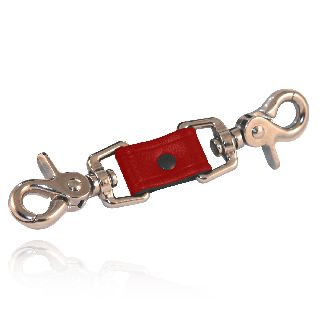 Shortened Anti-Sway Strap (Red Leather)