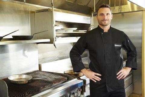 Lyss V-series Chef Coat