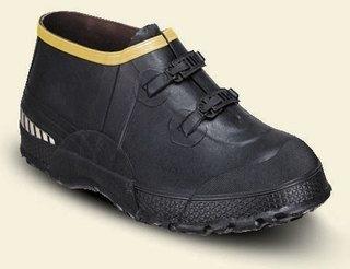 """ZXT Buckle Deep Heel Overshoe 5"""" Black"""
