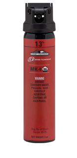 First Defense® MK-4, 1.3% Red Stream