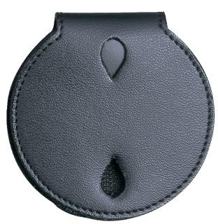 PVC Round Badge Holder With Velcro