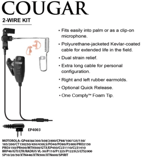 Cougar 2-Wire Professional Kit