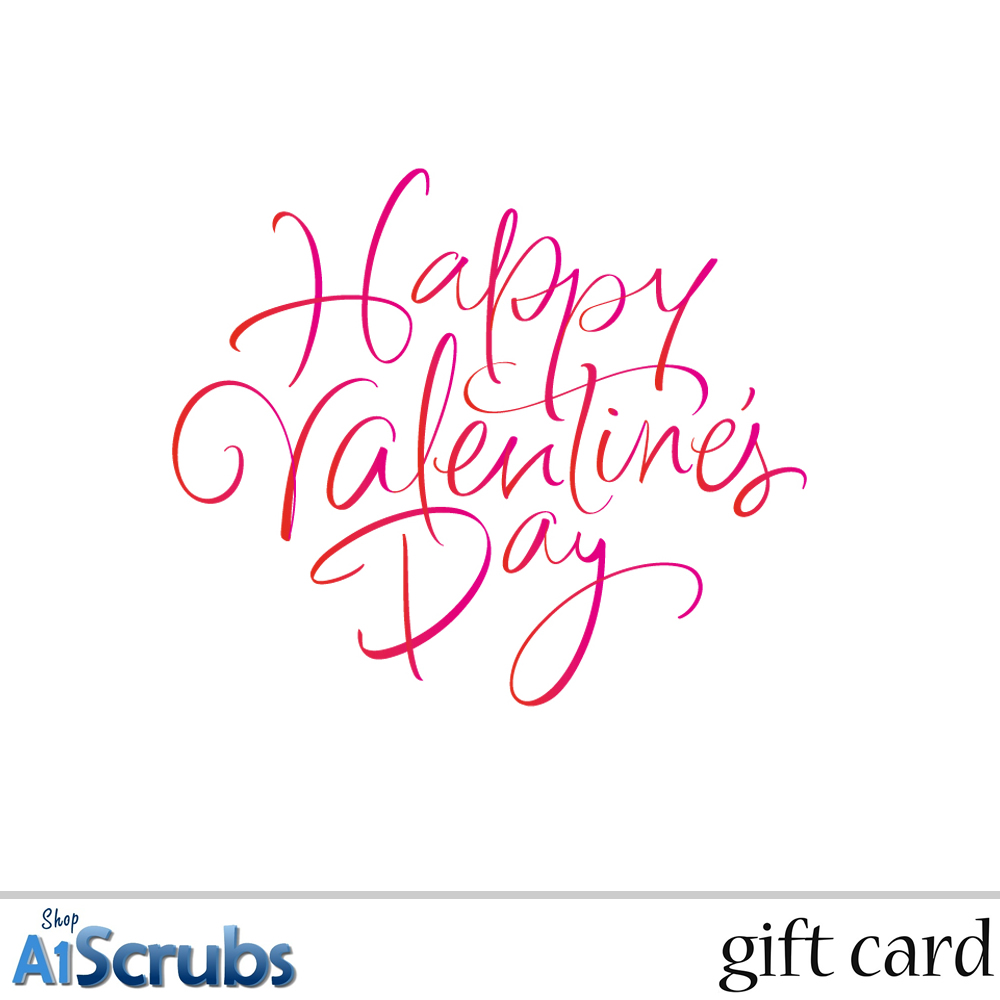 Valentines Day 3 - E-Gift Card