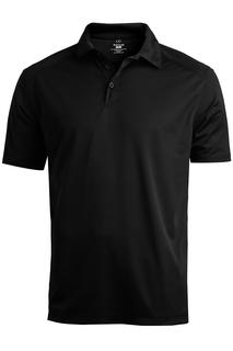 Edwards Men's Micro-Pique Polo With Self-Fabric Collar