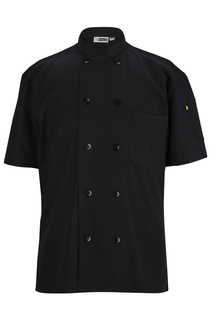Ten Button Chef Coat With Back Mesh