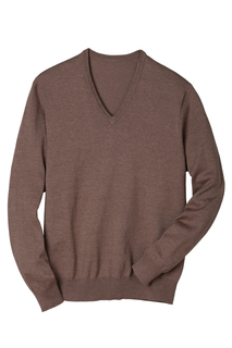 V-Neck Fine Gauge L/S Pullover