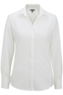 Batiste L/S Blouse With Faux French Cuff