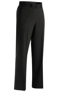 Edwards Women's Wool Blend Flat Front Dress Pant