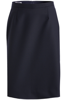 Edwards Ladies Wool Blend Straight Skirt