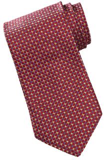 Men's Mini-Diamond Pattern Tie