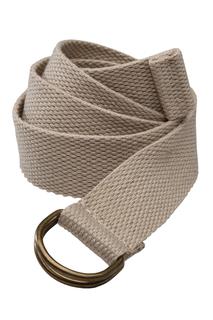 Woven D-Ring Web Belt
