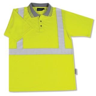 ANSI Class 2 Polo Shirt Polyester Jersey Knit