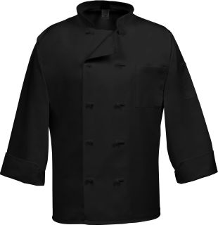 10 Button French Knot Chef Coat