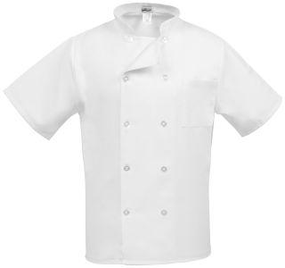 Short Sleeve Classic Chef Coat