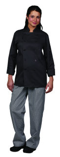 Unisex Grey Stone Twl Chef Coat