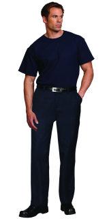 Unisex Navy Blue 50P/50C SS T-Shirt
