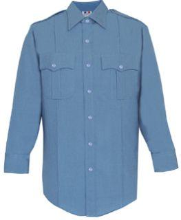 Men's Medium Blue Long Sleeve 100% Visa®; System 3 Polyester Shirt