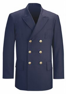 Double Breasted Dress Coat LAPD Navy