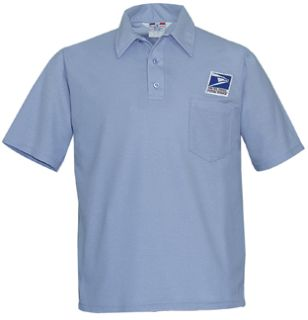 Knit Shirt Postal Blue