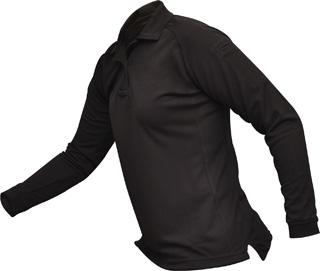 Vertx Women's coldblack® Long Sleeve Polo