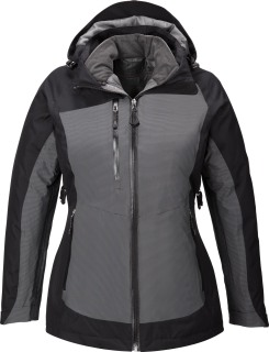 Alta Ladie's 3-In-1 Seam-Sealed Jacket With Insulated Liner