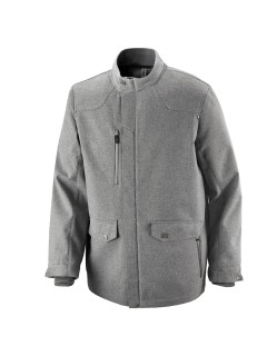 Uptown Men's 3-Layer Light Bonded City Textured Soft Shell Jacket