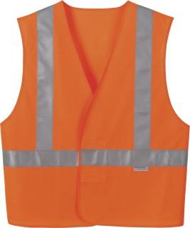 Vertical Stripe Safety Vest