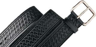 Leather Basketweave Belt
