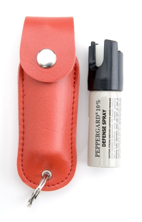 Leather Case Model w/  key ring-Red/ 11 grams