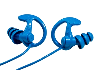 EP9 Sonic Defenders® Cobalt Max Full-Block Flanged Earplugs