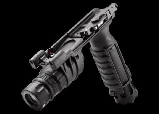 M900V Vertical Foregrip LED WeaponLight - White and IR Output