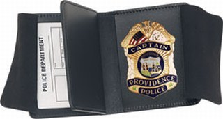 Side Open Double ID Badge Case - Duty