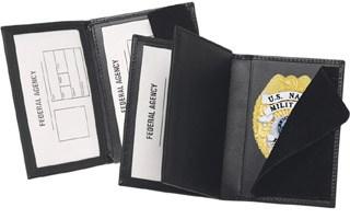 Side Open Double ID Badge Case - Dress