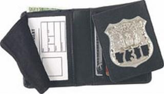 Flip-out Badge Wallet - Dress