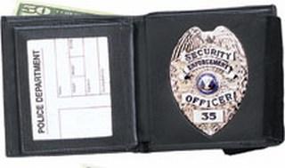Double ID Badge Wallet - Dress
