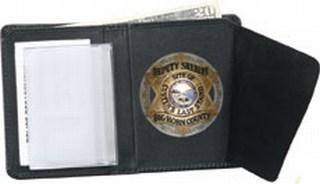 Bi-fold Badge Wallet - Dress