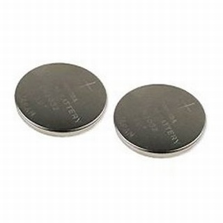 """Coin Cell batteries """" 2 pack (CuffMate)"""
